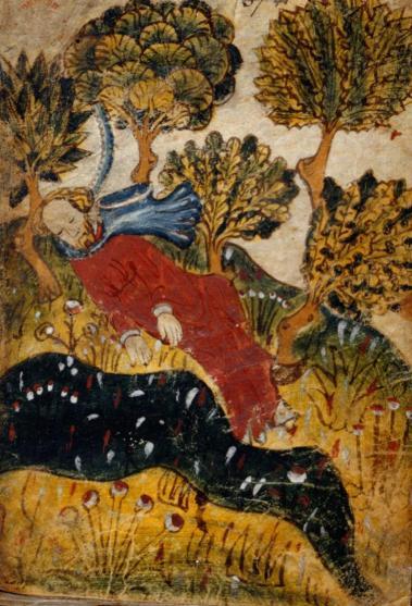 Ilustração de manuscrito de Pearl